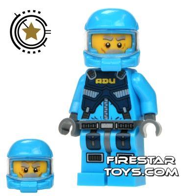 LEGO Alien Conquest Mini Figure - Alien Defense Unit Soldier 3