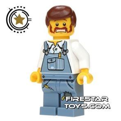 LEGO Alien Conquest Mini Figure - Farmer