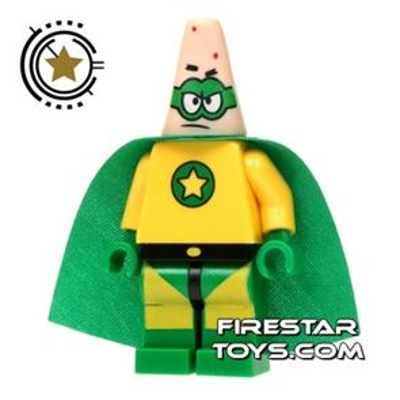 LEGO Spongebob Mini Figure - Patrick Superhero