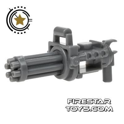 SI-DAN - Minigun with spinning barrel - Dark Blue Gray