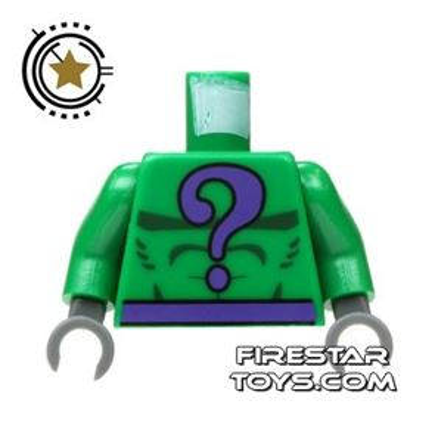 LEGO Mini Figure Torso - Batman - The Riddler