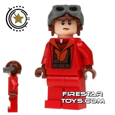 LEGO Star Wars Mini Figure - Naboo Fighter Pilot - Red Jumpsuit