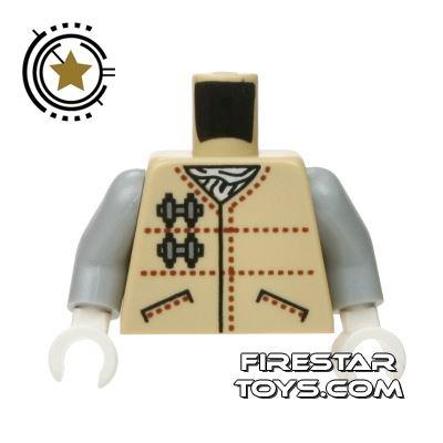 LEGO Mini Figure Torso - Star Wars - Hoth Rebel