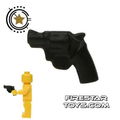 BrickWarriors - Snub Nose Revolver - Black