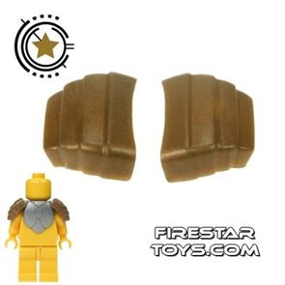 BrickForge - Segmented Pauldrons - Bronze - Pair