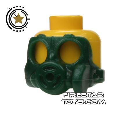 SI-DAN - Gas Mask S10sr - Dark Green