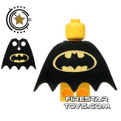 Custom Design Cape - Batman Logo - Yellow