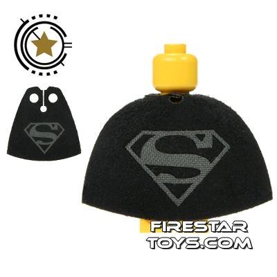 Custom Design Cape - Superman - Dark Gray