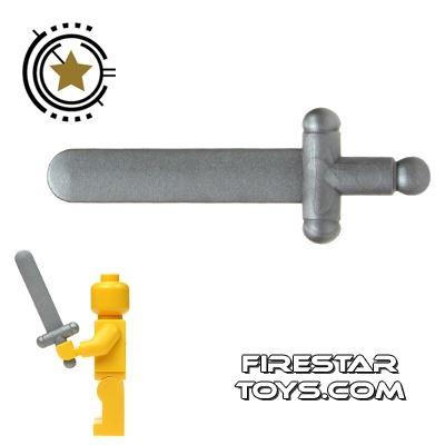 LEGO - Castle Sword - Pearl Light Gray