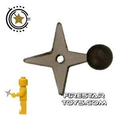 Brick Command - Ninja Star - Transparent Black