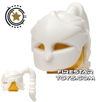 BrickWarriors - Assassin Mask - White
