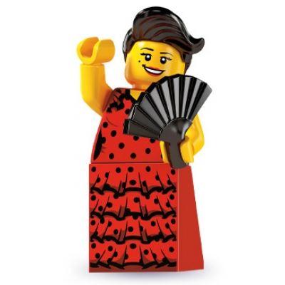 LEGO Minifigures - Flamenco Dancer