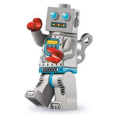 LEGO Minifigures - Clockwork Robot