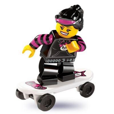 LEGO Minifigures - Skater Girl