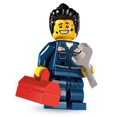 LEGO Minifigures - Mechanic