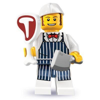 LEGO Minifigures - Butcher
