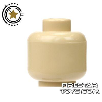 LEGO Mini Figure Heads - Plain Tan
