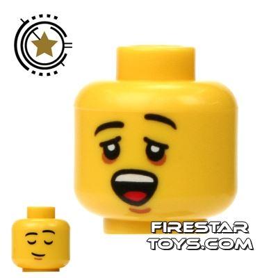 LEGO Mini Figure Heads - Sleepy