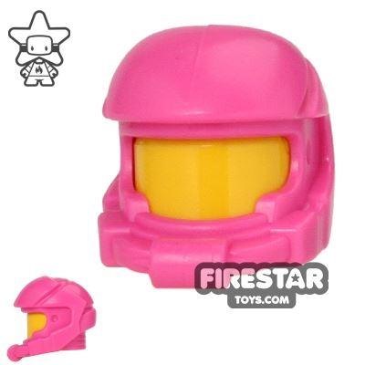 LEGO - Space Helmet - Dark Pink