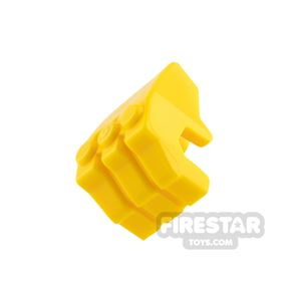 LEGO Mini Figure Hand - Gorilla Fist - Yellow