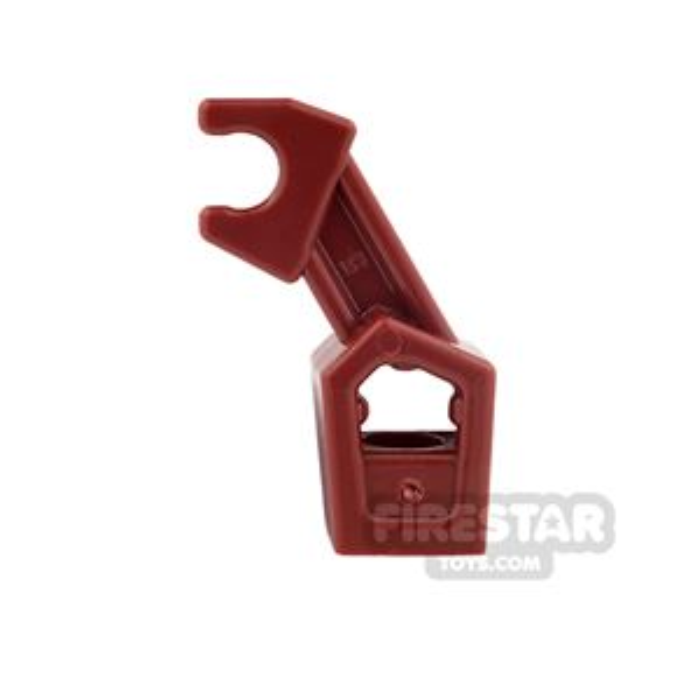 LEGO Mini Figure Arms - Mechanical Arm - Dark Red