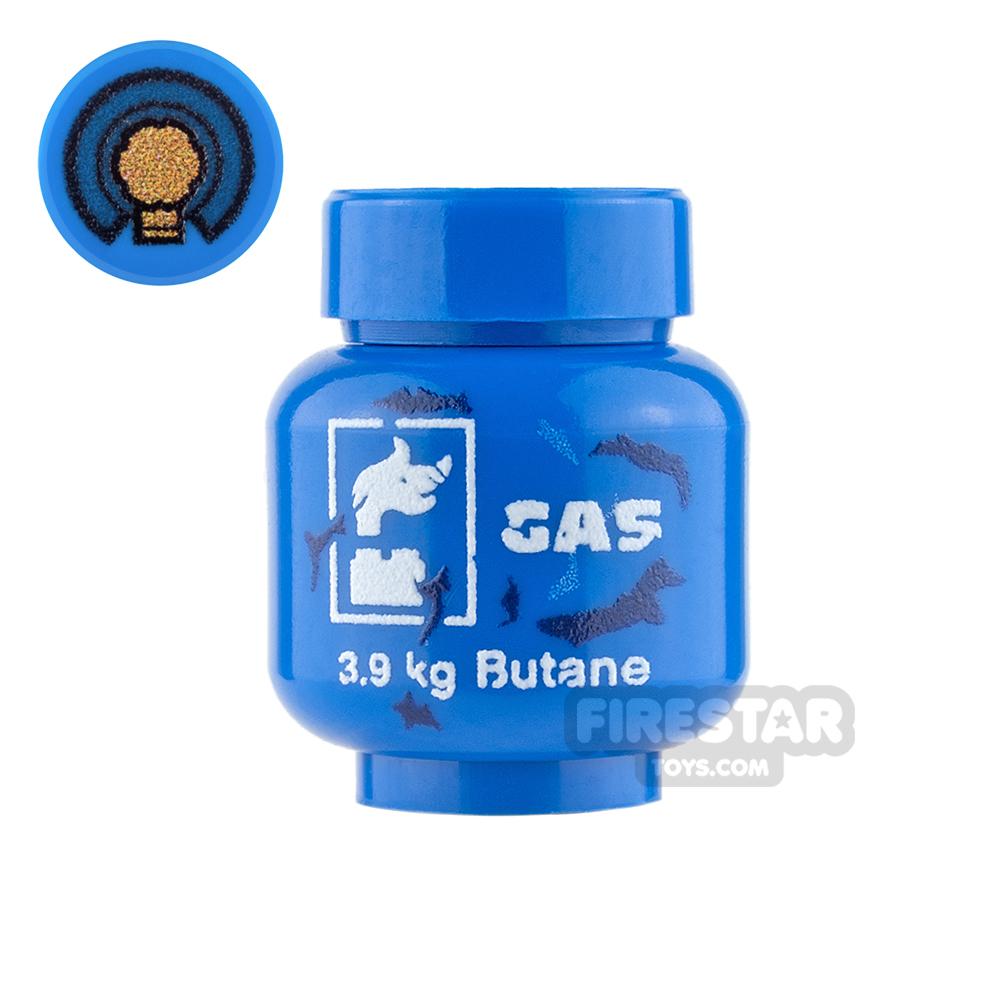 Custom Design - Gas Canister - Blue