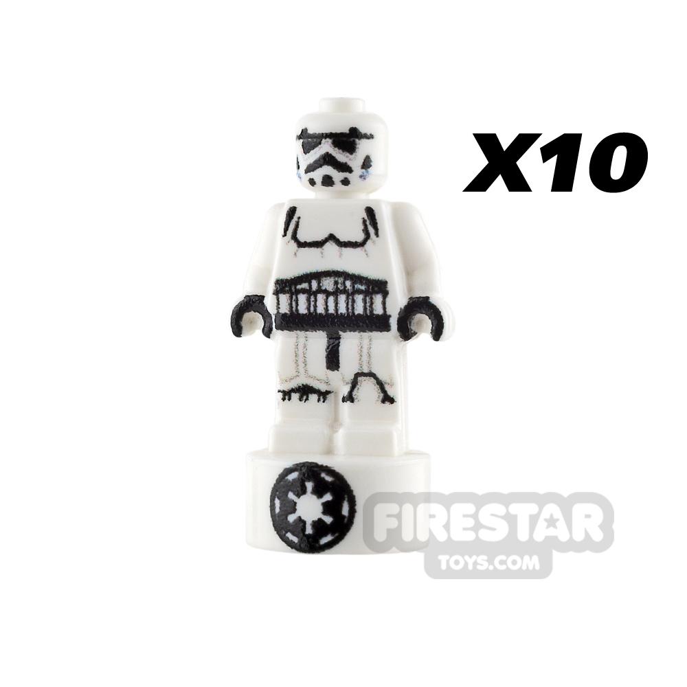 Custom Design - SW Nanofigure Statuette - Stormtrooper X 10