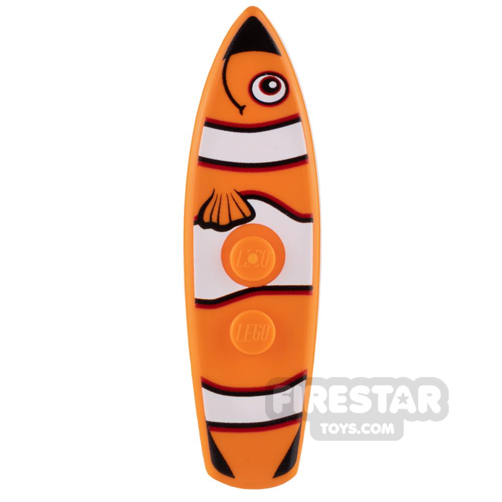 Custom Design - Surfboard - Clownfish