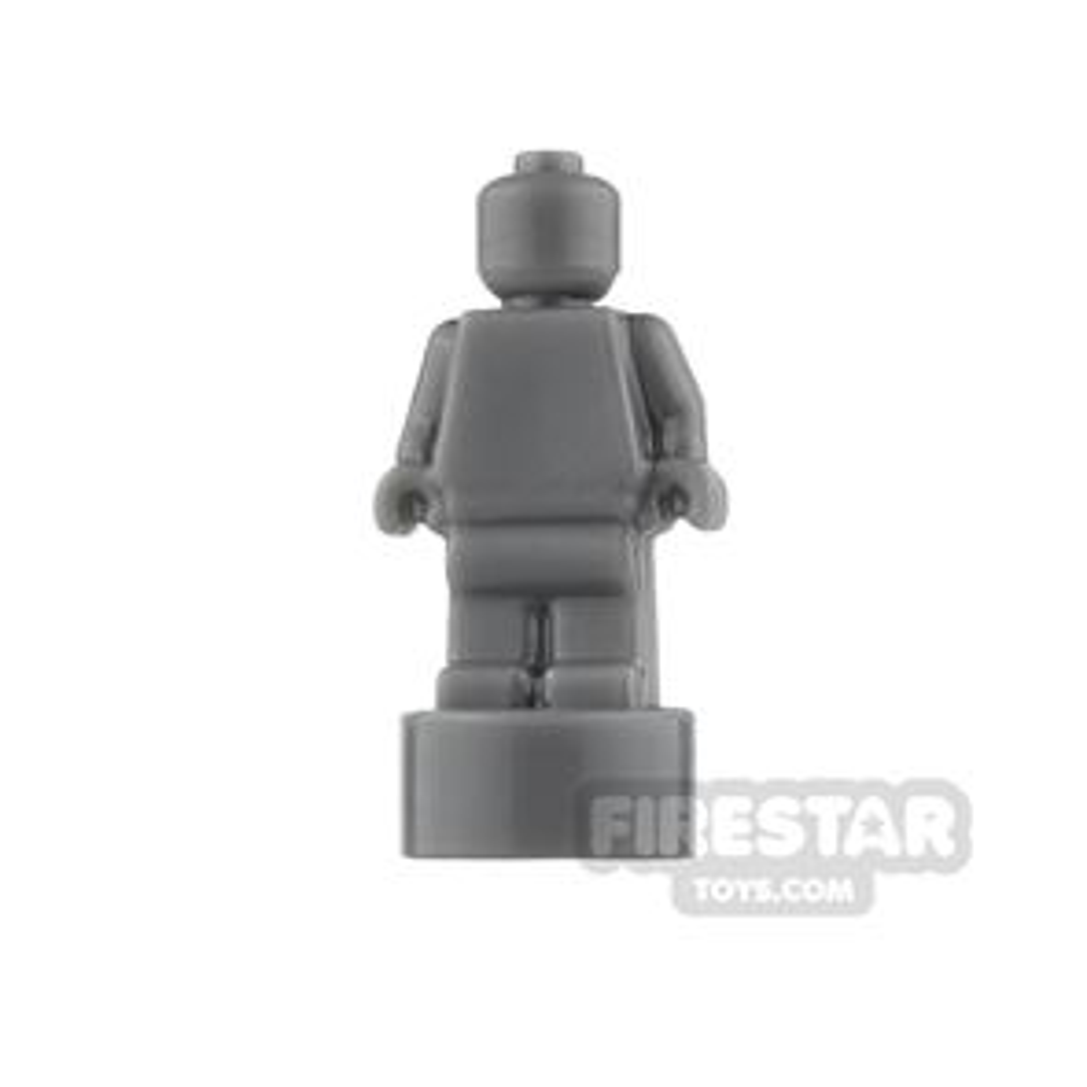 LEGO - Minifigure Trophy Statuette - Dark Blueish Gray