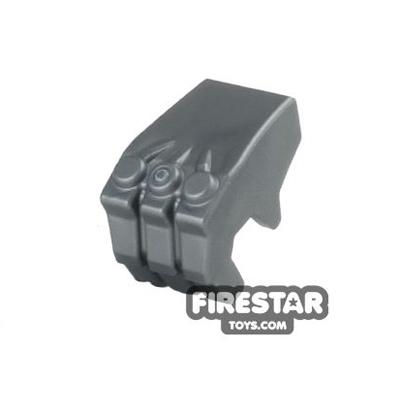 LEGO Mini Figure Hand - Gorilla Fist - Flat Silver