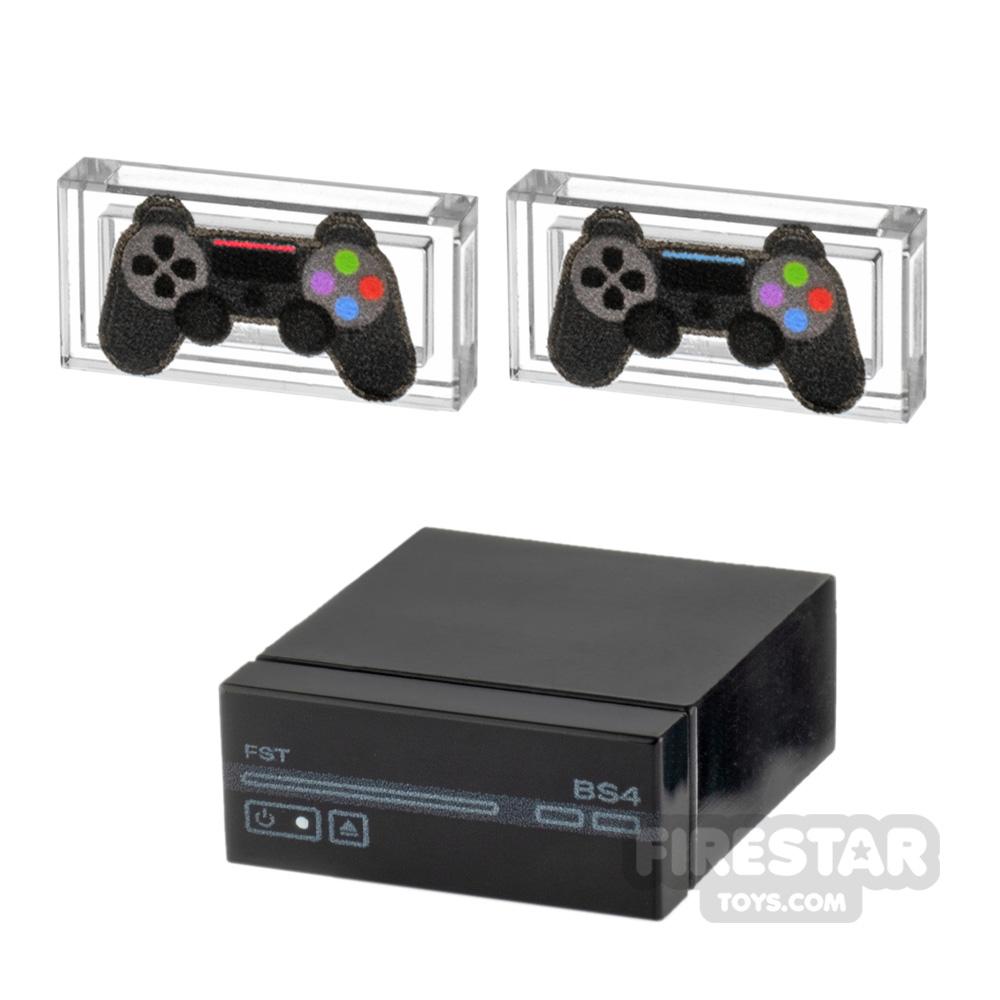 Custom Design - BrickStation 4 - Black
