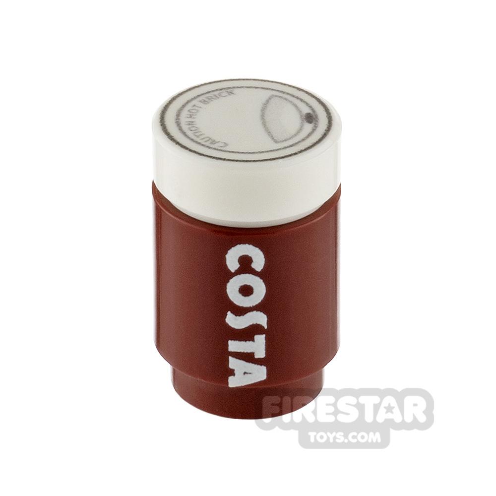 Custom Design - Costa Coffee Brick