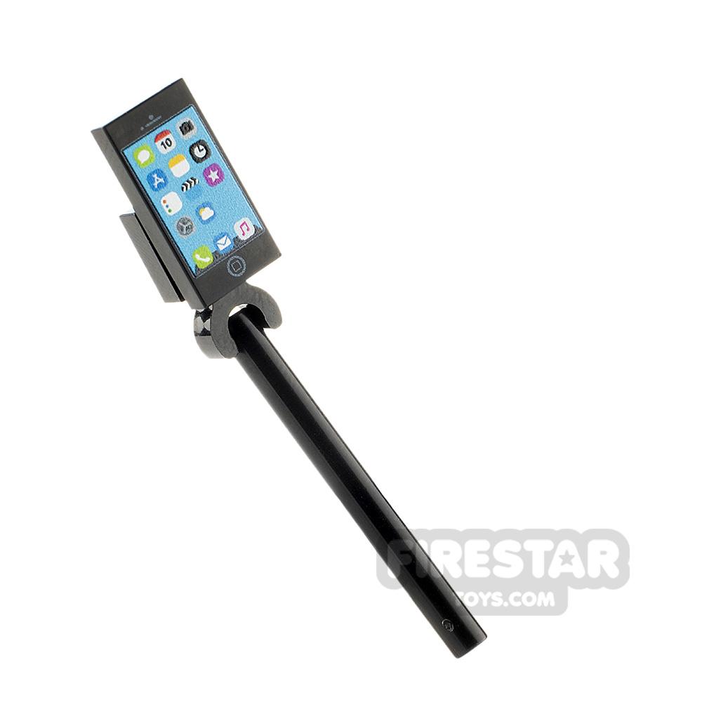Custom Design Selfie Stick with iPhone