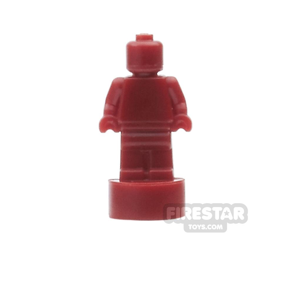 LEGO - Minifigure Trophy Statuette - Dark Red