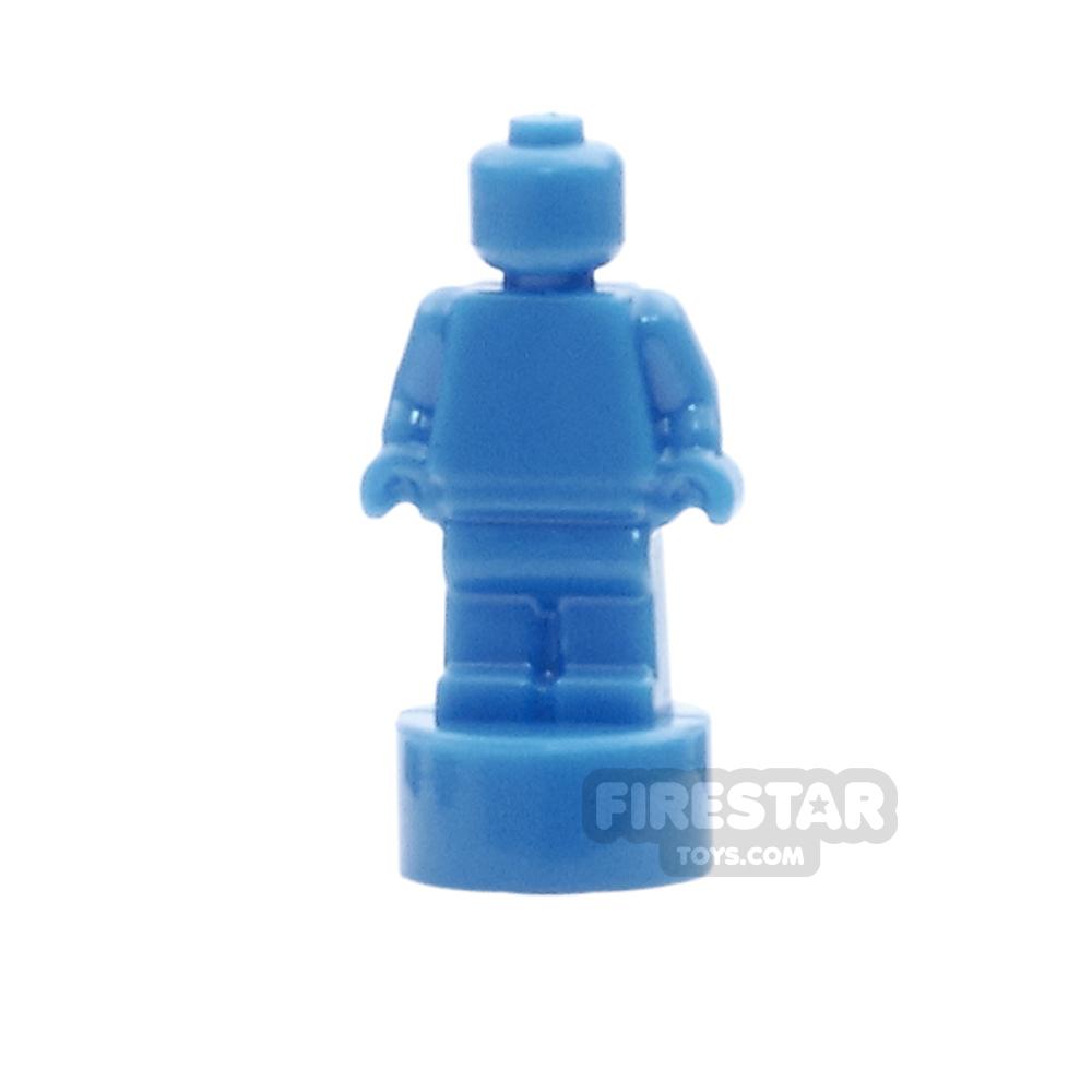 LEGO Minifigure Trophy Statuette Blue
