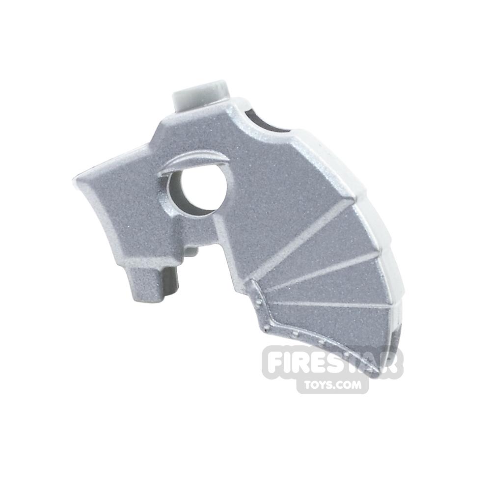 LEGO - Unicorn Battle Helmet - Metallic Silver