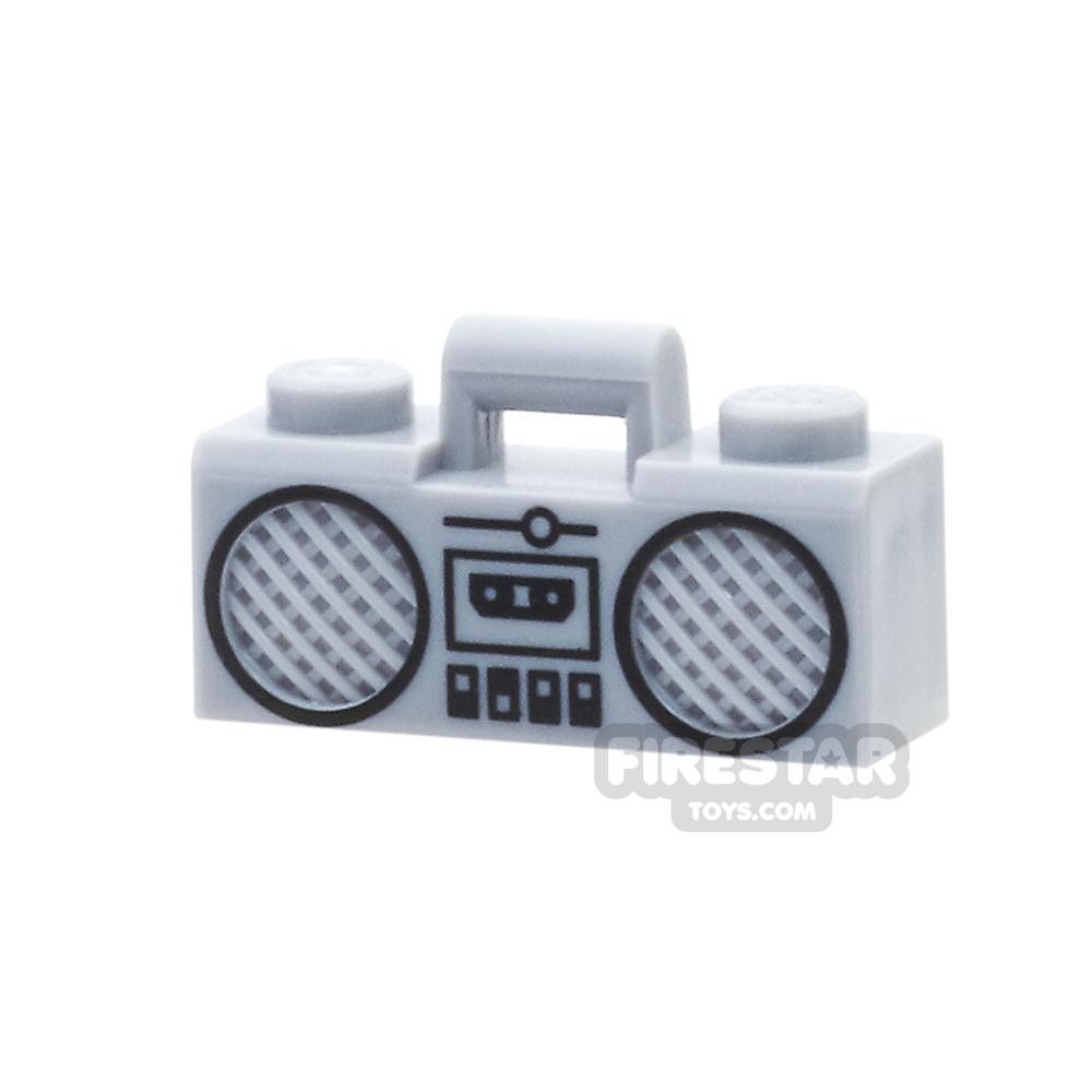 LEGO - Boom Box - Light Bluish Gray