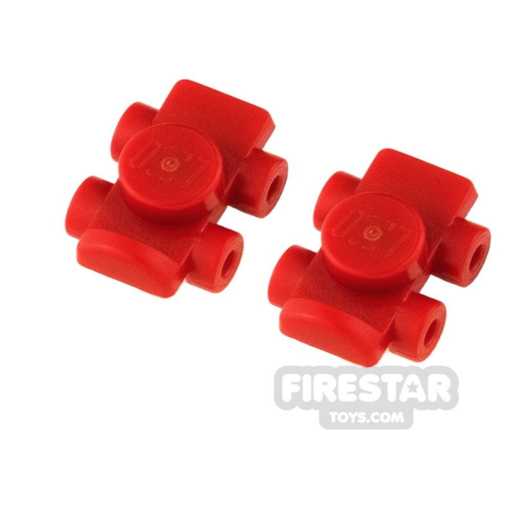 LEGO - Roller Skates - Red