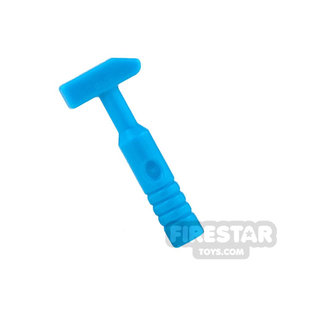 LEGO - Cross Pein Hammer - 3-Rib Handle - Dark Azure