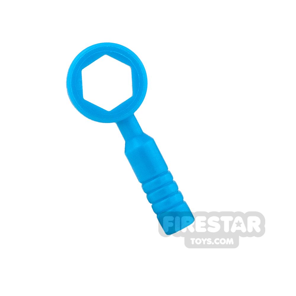 LEGO - Box Wrench - 3-Rib Handle - Dark Azure