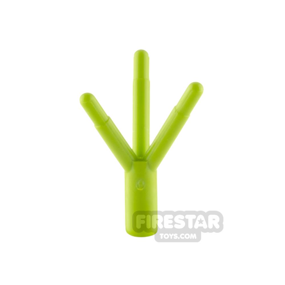 Custom Mini Set - Bridal Bouquet - Lime Stem - Dark Pink Petals