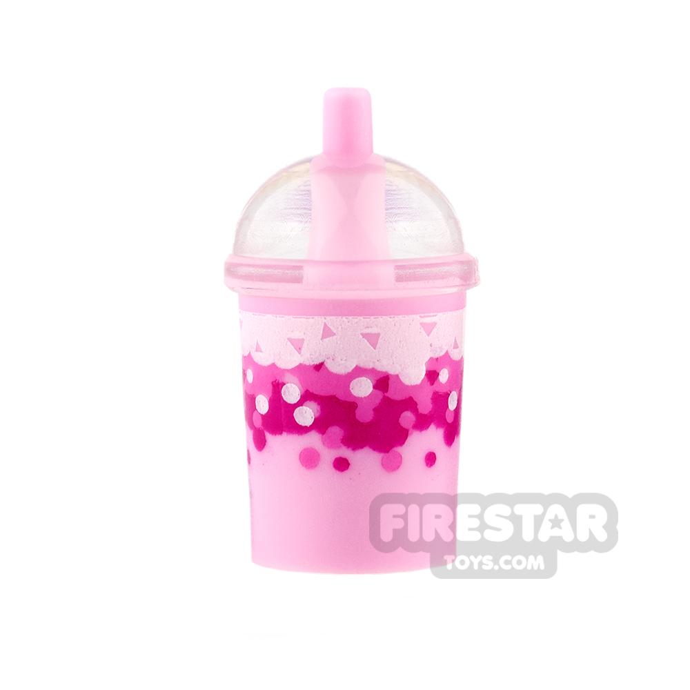 LEGO - Milkshake Cup - Strawberry
