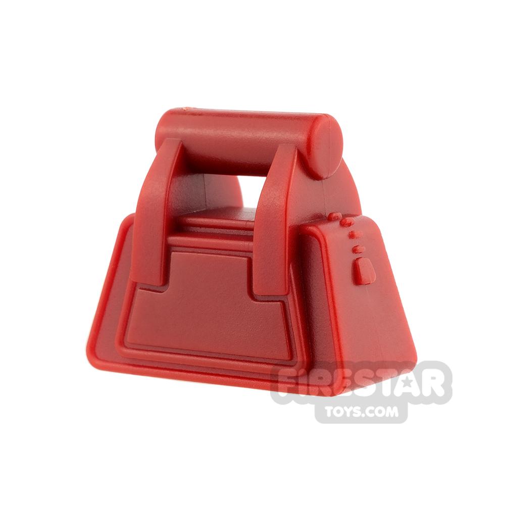 LEGO - Handbag with Zip - Dark Red