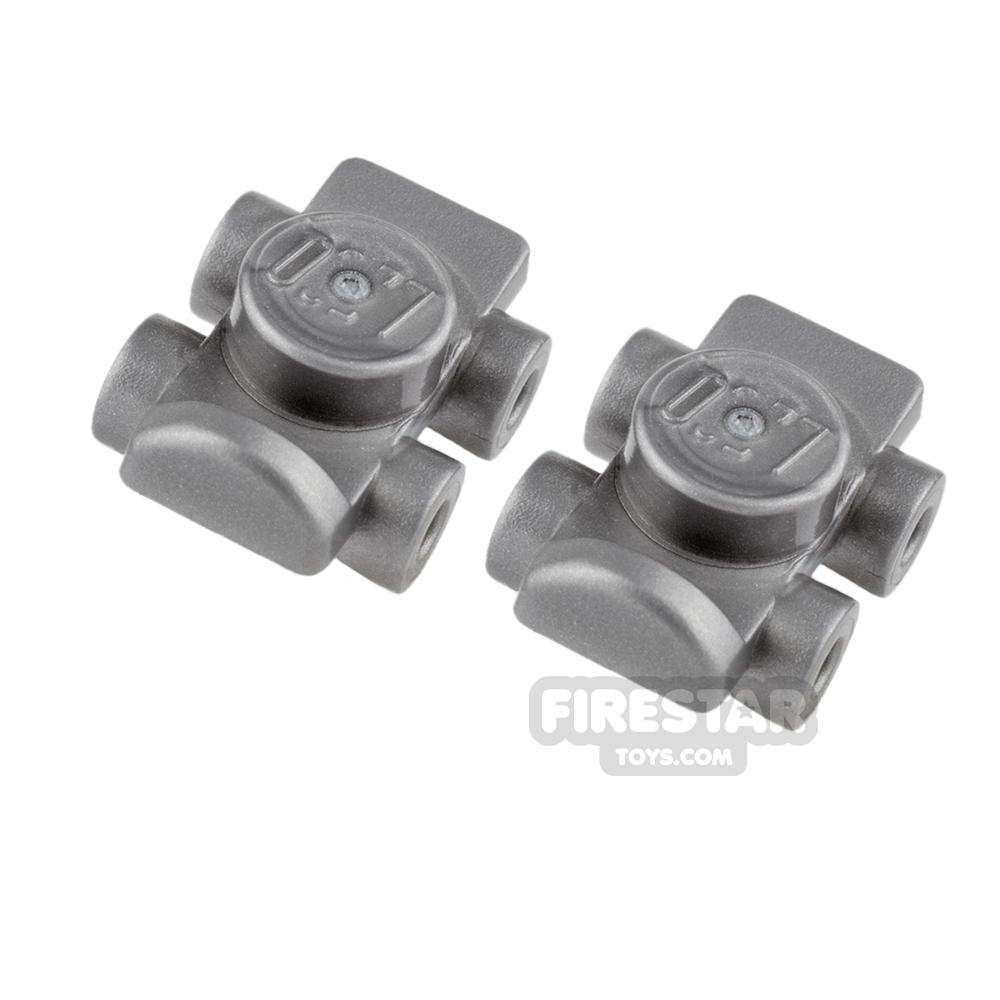LEGO - Roller Skates - Flat Silver