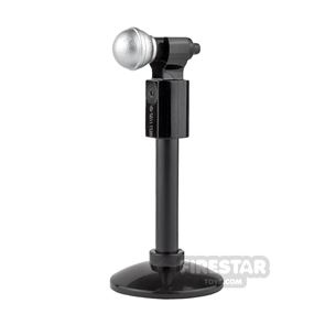 LEGO - Silver Microphone and Stand