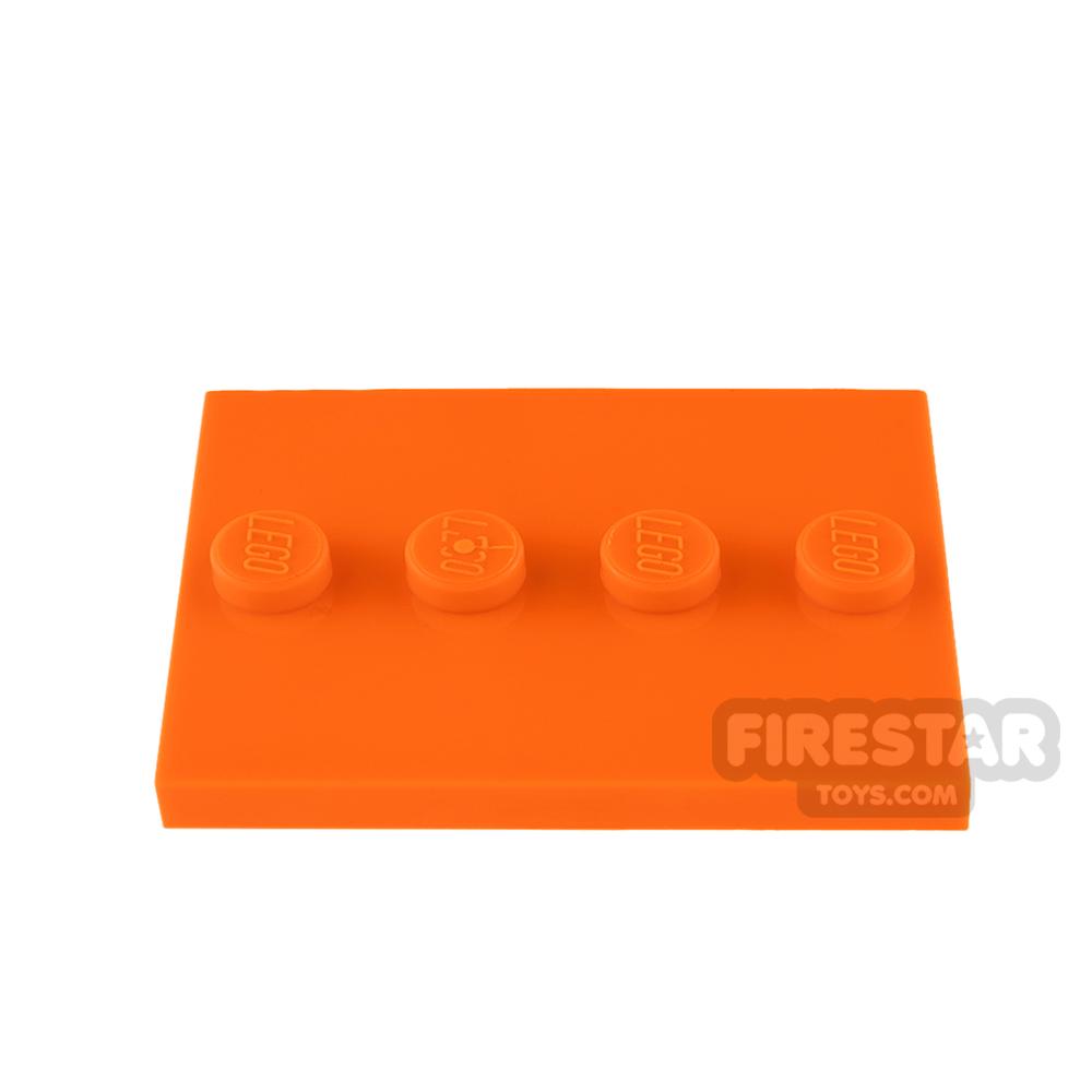 LEGO - Mini Figure Stand - Orange