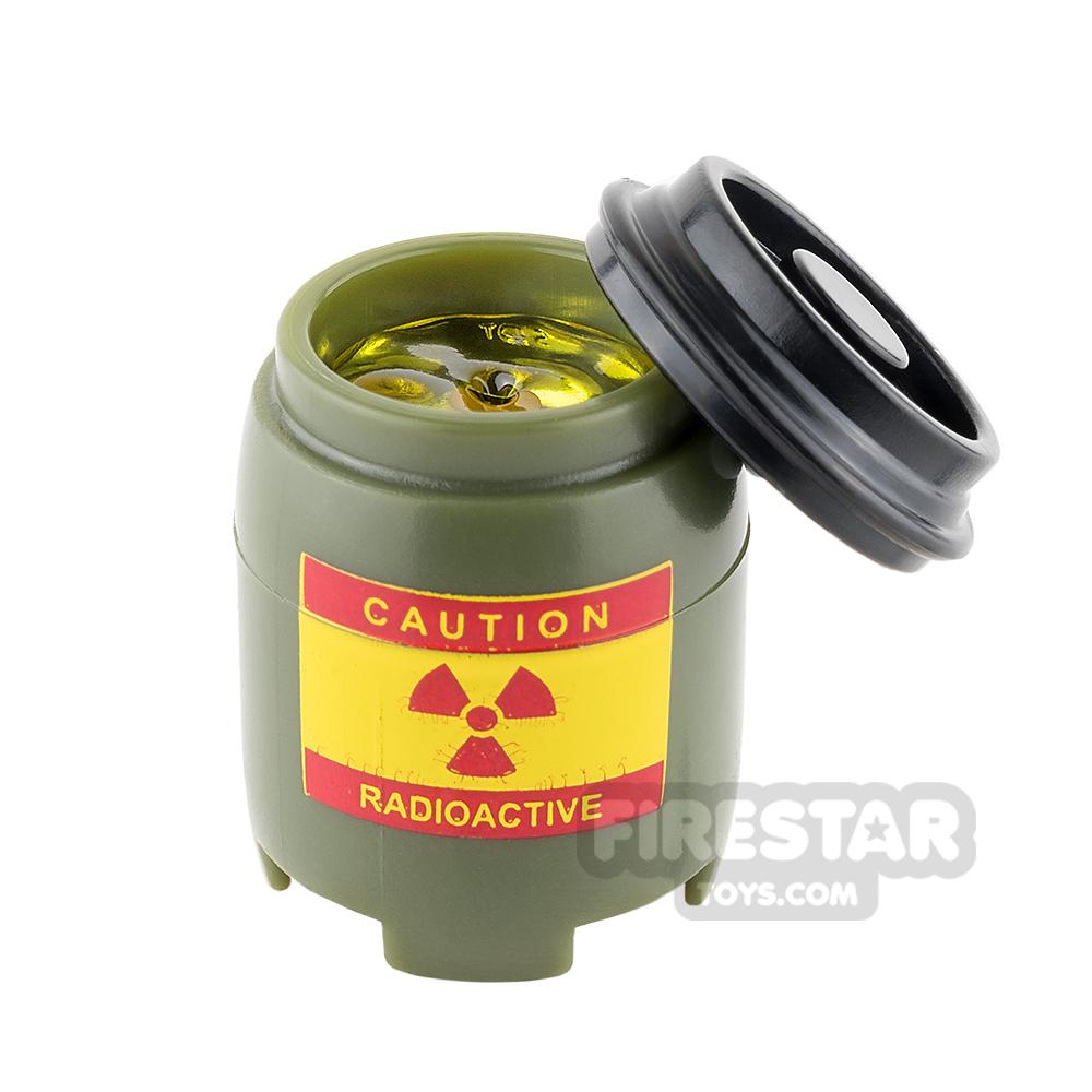 SI-DAN - BI120 Plastic Drum Radioactive Yellow Liquid