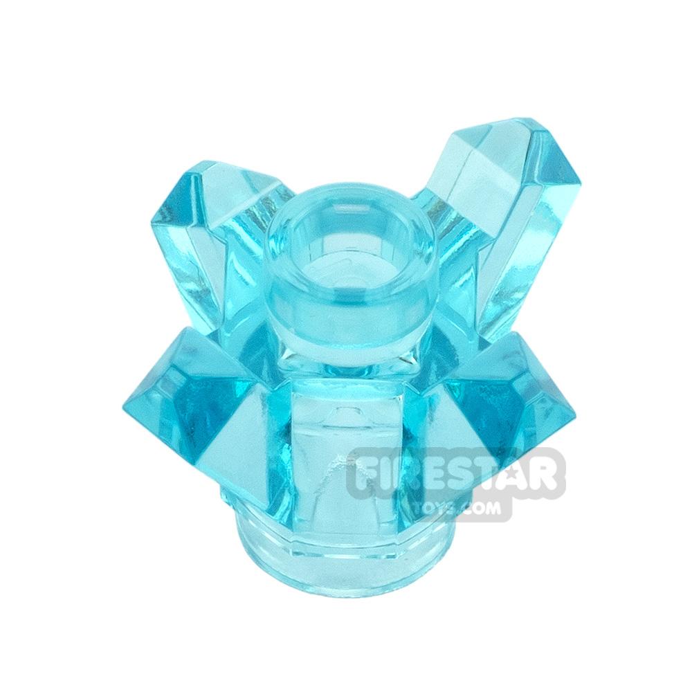 LEGO Rock Crystal 1x1 4 Point