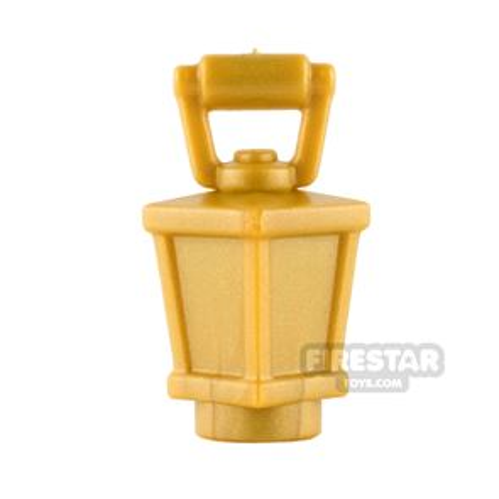 BrickWarriors - Lantern - Pearl Gold