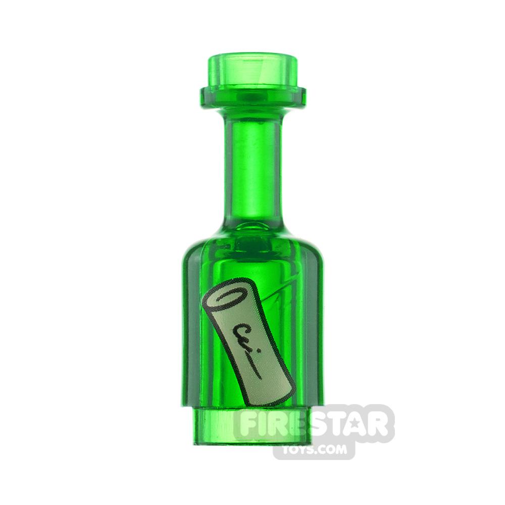 LEGO Message in a Bottle
